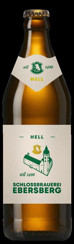 Schlossbrauerei Ebersberg Bierflasche